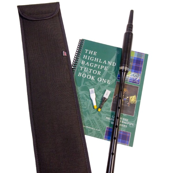 Reed Learn Great Highland Bagpipe Tutor Book Practice Chanter
